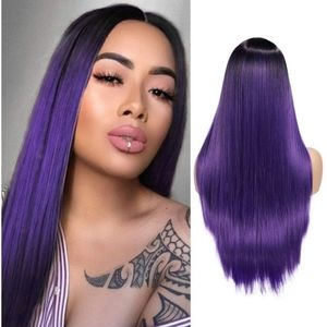 """Blooming Hair 24"""" Middle Part Wig"""